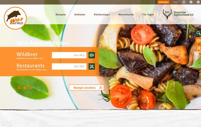 """Die Internetpräsenz der Kampagne """"Wild auf Wild"""" (www.wild-auf-wild.de) hat ein neues Design erhalten."""