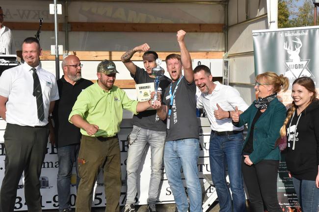 Das Team Wild-auf-Wild konnte den Publikumspreis für sich entscheiden