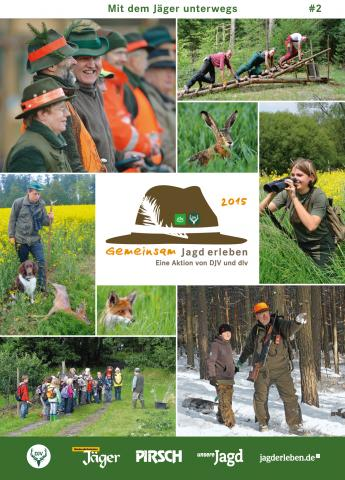 Gemeinsam Jagd erleben - Broschüre für den Gast