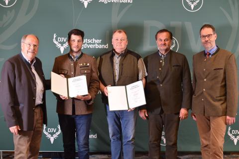 Sonderpreis Kommunikation: Sonderpreis Rupprecht Walch und Dieter Hampl