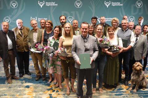 Sonderpreis Kommunikation: Alle Preisträger Gruppenbild 2019 in Berlin