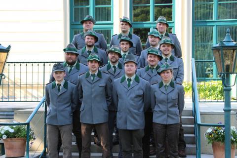 Absolventen des Meisterprüfungslehrganges 2016