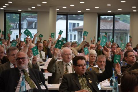Bundesjägertag Marburg 2013 Abstimmung