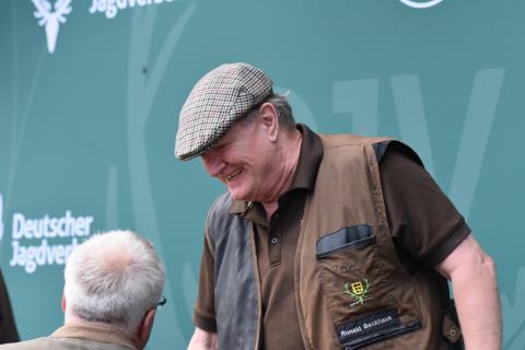 Ronald Beckhaus gewinnt die Kombination der Seniorenklasse mit 342 Punkten.