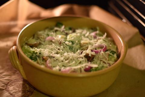Wildschwein-Gemüse-Topf.