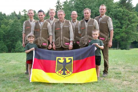 Deutsche Mannschaft EM 2015 Pisek / Tschechien