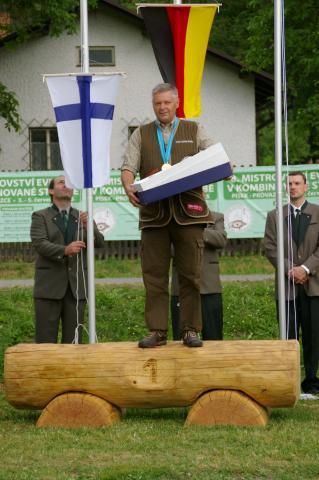 Europameister 2015 in der Veteranenklasse: Hans-Ludwig Hapke aus Niedersachsen