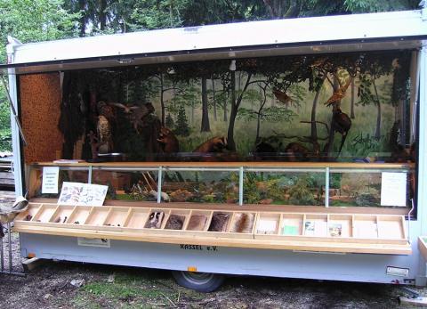 Hessenjäger Kassel_Lernort-Natur-Wagen offen