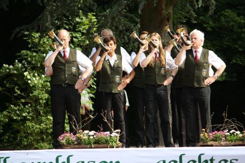 Jagdhornbläser in der Gruppe A