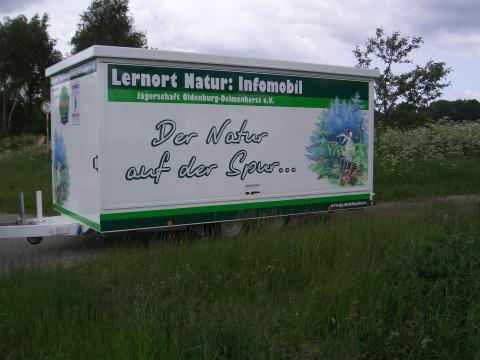 Lernort Natur Mobil der Jägerschaft Oldenburg-Delmenhorst