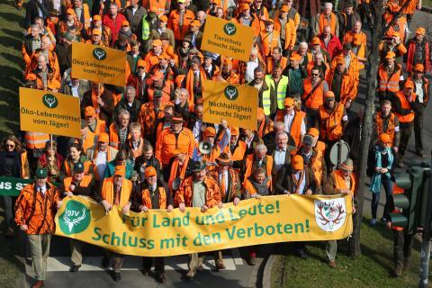 """Demonstration """"Für Land und Leute"""""""