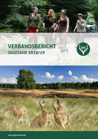 Titelbild des Verbandsberichts 2018/2019