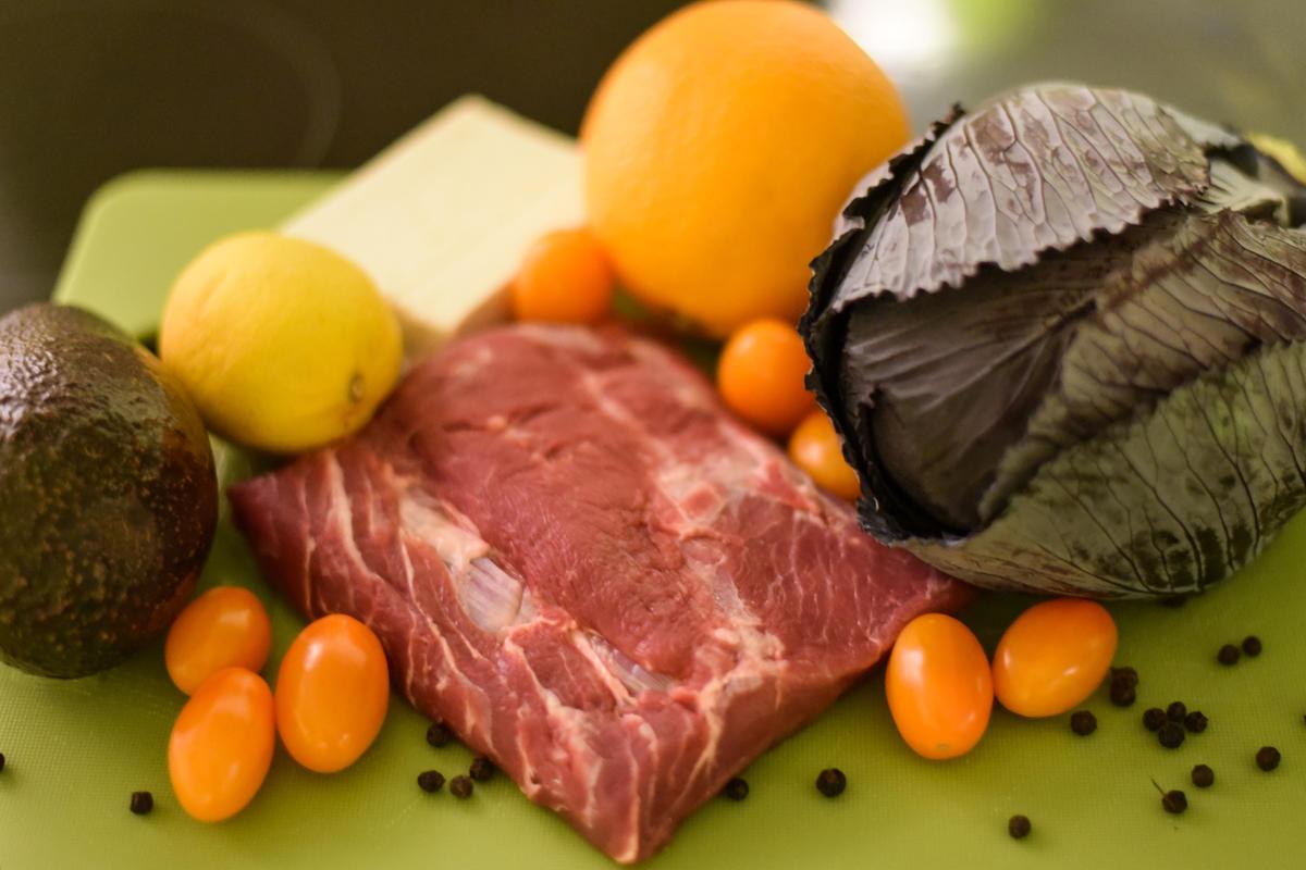 Die Zutaten für den schnellen Salat (Quelle: Kapuhs/DJV)